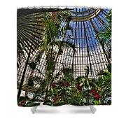 The Dome 002 Buffalo Botanical Gardens Series Shower Curtain