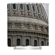 The Dome Of The Capitol Shower Curtain