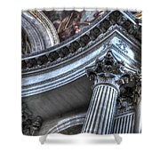 The Dome Of The Invalides Paris Shower Curtain