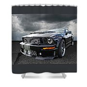 The Dominator - Cervini Mustang Shower Curtain