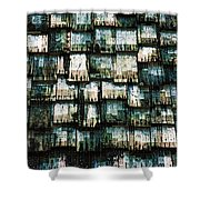 The Domino Roof Shower Curtain