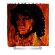 The Doors Light My Fire Shower Curtain