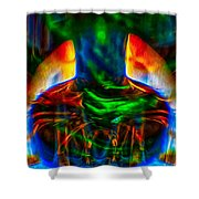 The Doors Of Perception Shower Curtain by Omaste Witkowski