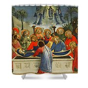 The Dormition Of The Virgin Shower Curtain