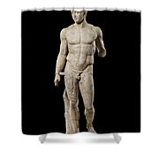 The Doryphoros Of Polykleitos Shower Curtain