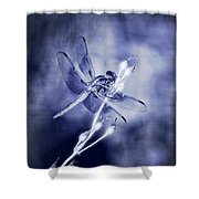 The Dragonfly  Shower Curtain