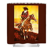 The Drover Shower Curtain