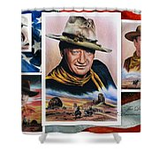 The Duke American Legend Shower Curtain by Andrew Read