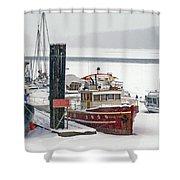 The Duncan Scott Shower Curtain