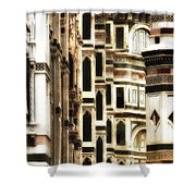 The Duomo Up Close Shower Curtain