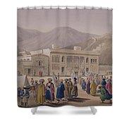 The Durbar-khaneh Of Shah Shower Curtain