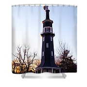 The Dwight Windmill Shower Curtain