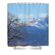 The Eagle's View Shower Curtain