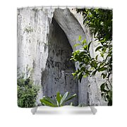 The Ear Of Dionysius Shower Curtain