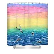 Sea To Sky Shower Curtain