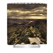 The Eastern Rim Of The Grand Canyon Shower Curtain