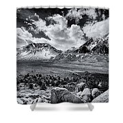 The Eastern Sierra Shower Curtain