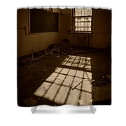 The Echo Of Emptiness Shower Curtain