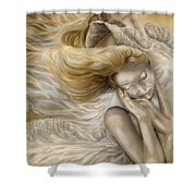 The Ecstasy Of Angels Shower Curtain