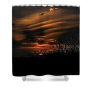 The Edge Of Night Shower Curtain