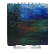 The Edge Of The Woods Shower Curtain