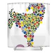 The Egg Shower Curtain