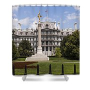 The Eisenhower Executive Office Building Shower Curtain