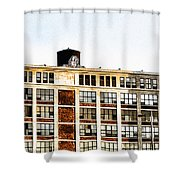 The Electric Factory Shower Curtain