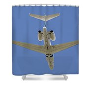 The Elusive Israeli Air Force G550 Aew Shower Curtain