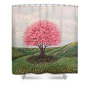 The Elysian Fields Shower Curtain