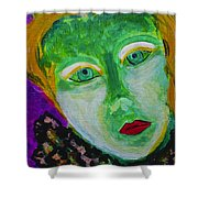 The Emerald Lady Shower Curtain
