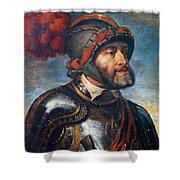 The Emperor Charles V Shower Curtain