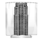 The Empire State Building Shower Curtain by Luciano Mortula