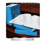 The Encyclopedia Of Newfoundland And Labrador - Joeys Books Shower Curtain