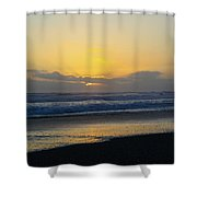 The End Of Day Shower Curtain