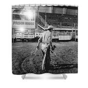 The End Of The Rodeo Shower Curtain