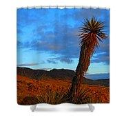 The Endangered Wild West Shower Curtain