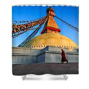 The Endless Search For Eternity Shower Curtain