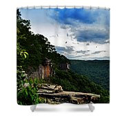 The Endless Wall  Shower Curtain