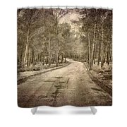 The Entrance Of The Great Forest Shower Curtain