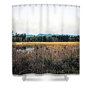 Hamilton Marsh  Shower Curtain