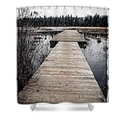 Pier Hamilton Marsh  Shower Curtain