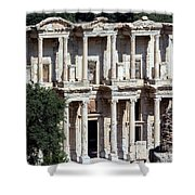 The Ephesus Library In Turkey Shower Curtain