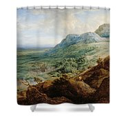 The Escorial, From A Foothill Shower Curtain