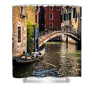 The Essence Of Venice Shower Curtain