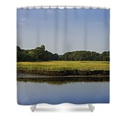 The Essex Marsh Shower Curtain