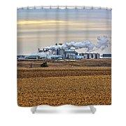 The Ethanol Plant Shower Curtain
