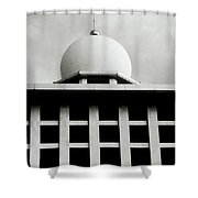 The Ethereal Dome Shower Curtain
