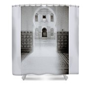 The Ethereal Doorway Shower Curtain