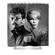 The Eurythmics Shower Curtain
